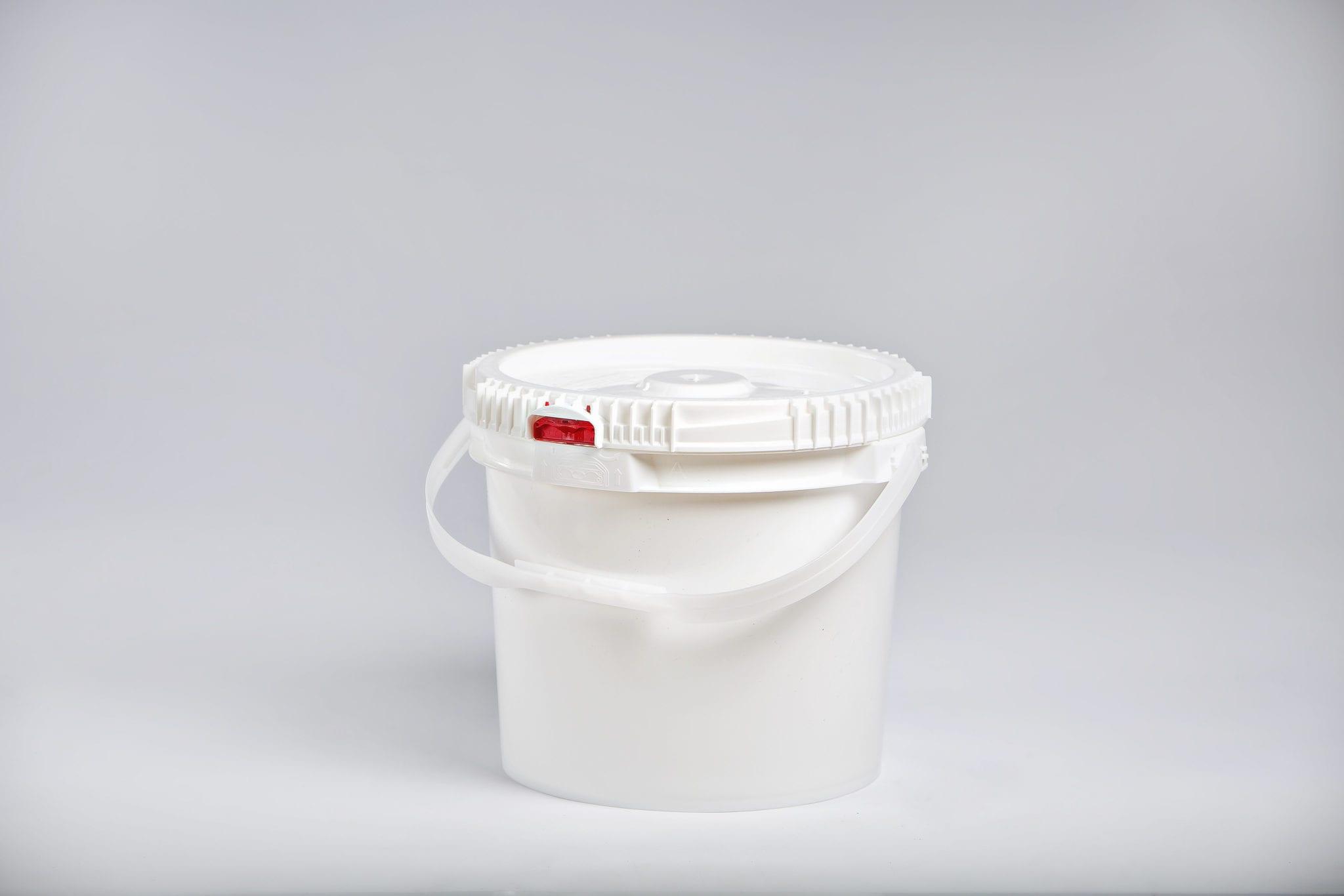 Plastic Pail 3 5 Gallon Lite Latch Pailm Amp M Industries