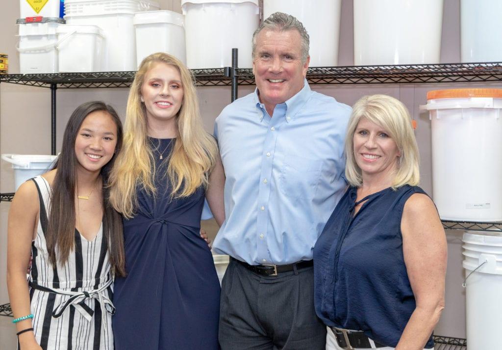 Glen Morris & Family at M&M
